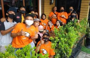Dress code serba orange menjadi tema kopdar TAC Jakarta kali ini