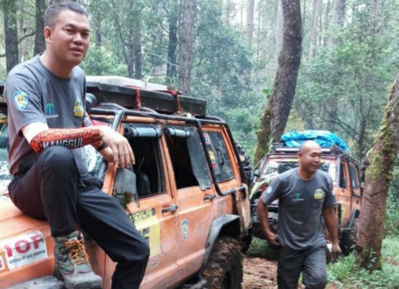 Alpian Piuk, offroader yang jadi Walikota Pagar Alam Sumatera Selatan. (foto : ist)