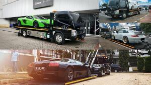 Jakarta Towing Service sering melayani mobil-mobil premium