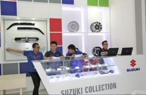 Meningkat, Penjualan Suku Cadang Suzuki di Masa Transisi Pandemi Covid-19