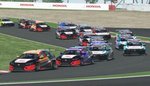 Persaingan seri 1 Honda Racing Simulator Championship di sirkuit Suzuka Jepang berlangsung akhir pekan ini.