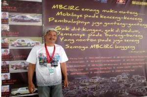 Iswachyudi, kemungkinan besar Mercedes OMR Cup ikut ISSOM 2020. (foto : bs)