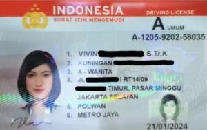 Kini SIM tidak lagi berdasarkan dari tanggal lahir, melainkan dari tanggal dibuat. (foto : ist)