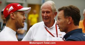 Trio Sebastian Vettel, Helmut Marko dan Christian Horner. Bersatu lagi pada 2021? (Foto: motorsport-total)