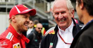 Sebastian Vettel bersama Helmut Marko. (Foto: gpblog)