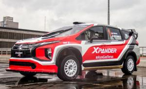 Mitsubishi Xpander AP4 siap diujicoba perdana di trek aspal dan tanah liat.