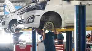 Antisipasi Suzuki untuk lonjakan konsumen yang servis di bengkel resmi