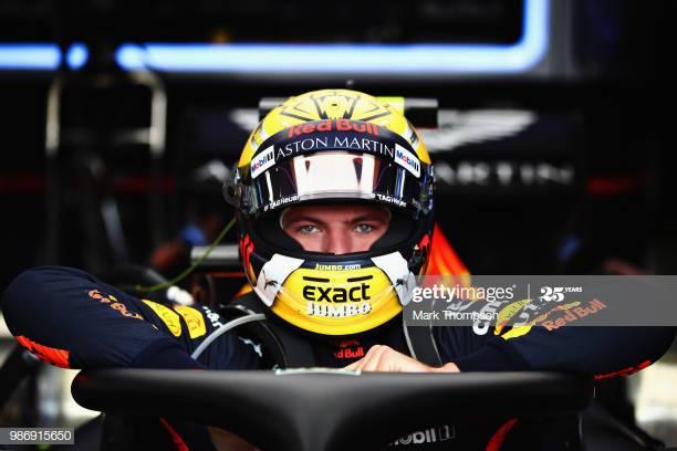 Max Verstappen (Belanda/Red Bull), calon pole sitter di GP Styrian. (Foto: gettyiamges)