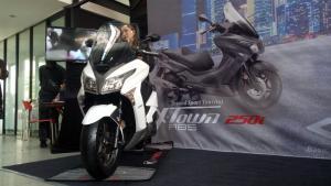 Kymco X-Town 250i dijual dengan harga Rp 62,5 juta