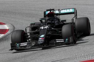 Lewis Hamilton (Mercedes) melaju mulus sejak start hingga finish GP Styrian 2020. (Foto: crash)