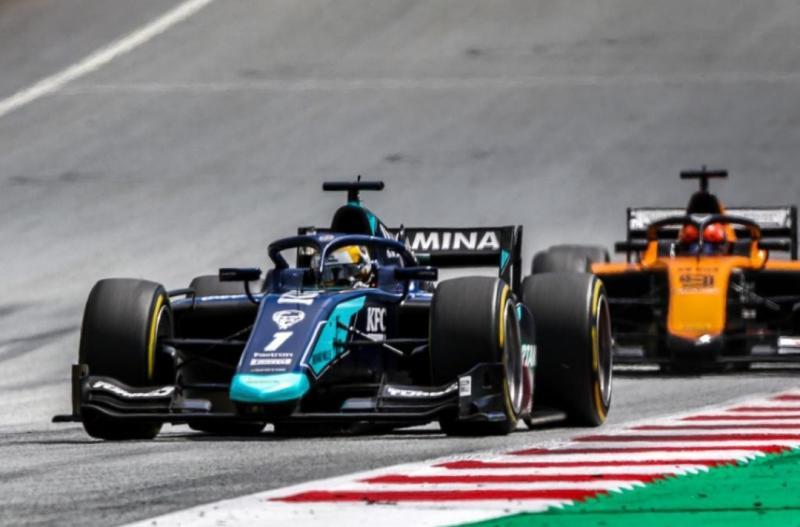 Sean Gelael berhasil penuhi target dengan berhasil raih poin di dua race F2 Styria Austria