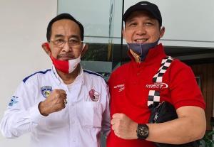 Djajat Sayoeti dan Oke Junjunan, persahabatan dua mantan Ketua Umum IMI Provinsi Jabar - DKI Jakarta