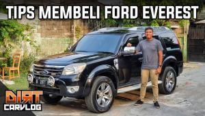 Julian Johan berbagi tips membeli Ford Everest