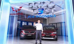 Tiga tahun Wuling Motors di Indonesia, telah perkenalkan teknologi perintah suara bahasa Indonesia di mobil Wuling Almaz
