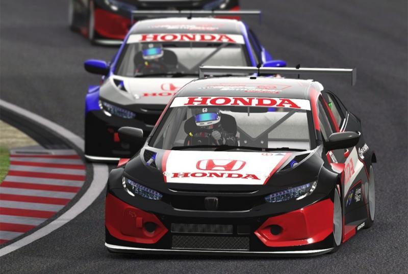 Seri pembuka Honda Racing Simulator Championship di sirkuit virtual Suzuka Jepang berlangsung seru dan persaingan ketat.