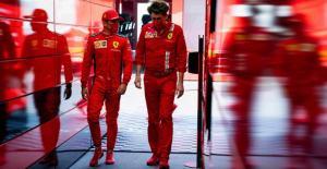 Dua figur kunci Ferrari, Mattia Binotto dan Charles Leclerc, pulang dari Austria dwngan kepala tunduk. ((Foto: ist)