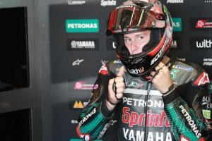 Fabio Quartararo (Prancis/Petronas Yamaha Srt). (Foto: crash)