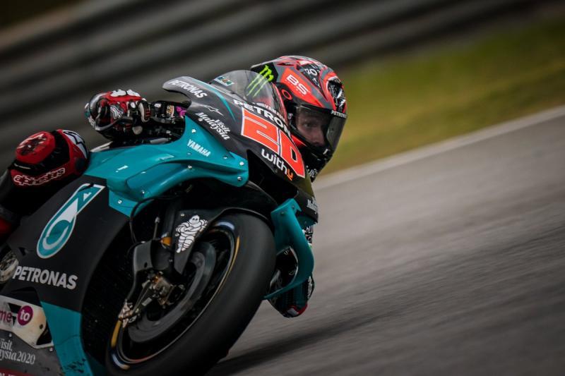 Fabio Quartararo, pembalap tercepat di FP3 MotoGP Jerez 2020