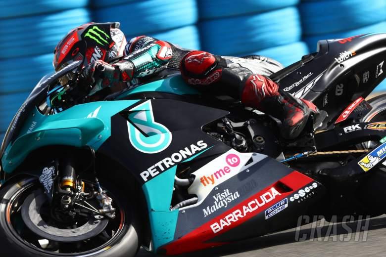 Fabio Quartararo (Petronas Yamaha Srt). (Foto: crash)