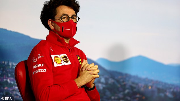 Doa saja tak cukup buat Mattia Binotto untuk pertahankan kursi Team Principal Ferrari. (Foto: dailymail)