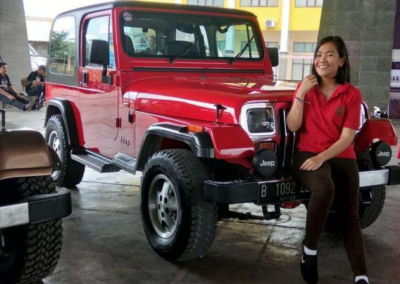Lody Natasha, offroader wanita Indonesia dan menjadi tim pengelola Suwarnadwipa Nusantara Circuit Muara Bungo Jambi