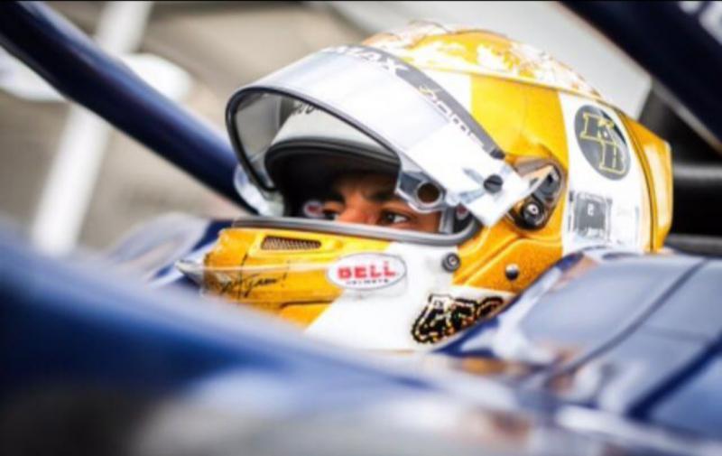 Sean Gelael telah berupaya ke jalur poin dari start posisi 17, bisa finish ke posisi 12