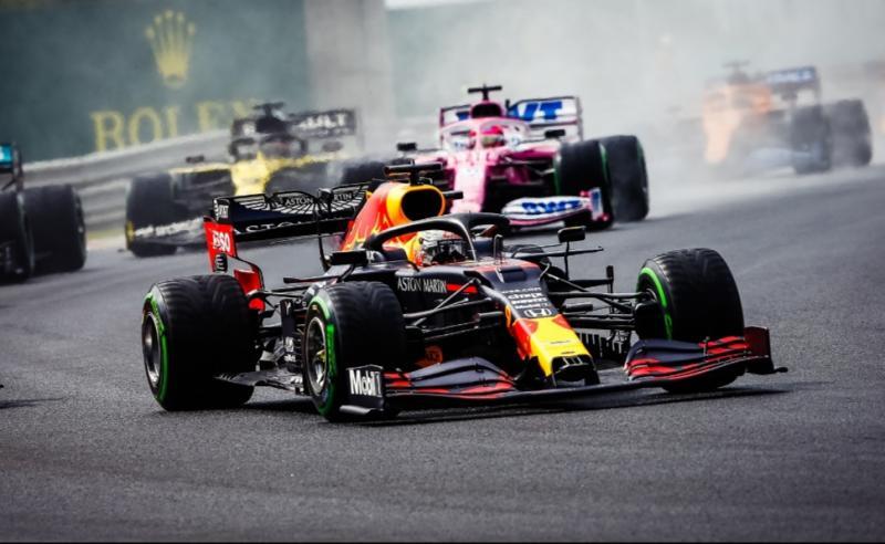 Aksi brilian Max Verstappen dengan finish P2 di F1 Hungaria 2020