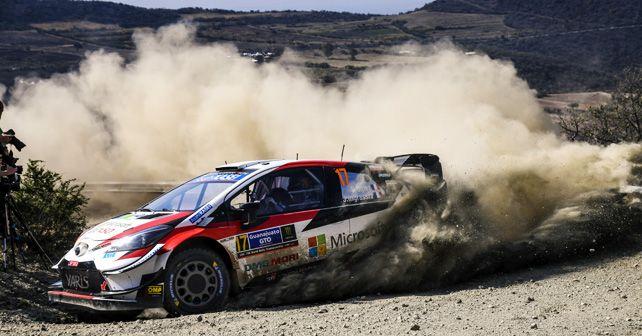 Sebastien Ogier (Prancis) masih kompetitif di dalam kokpit Toyota Yaris WRC. (Foto: autox)