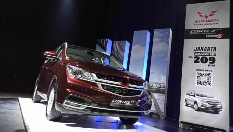 Wuling Cortez CT Type S dengan fitur dikurangi, tetap nyaman, harga lebih ekonomis