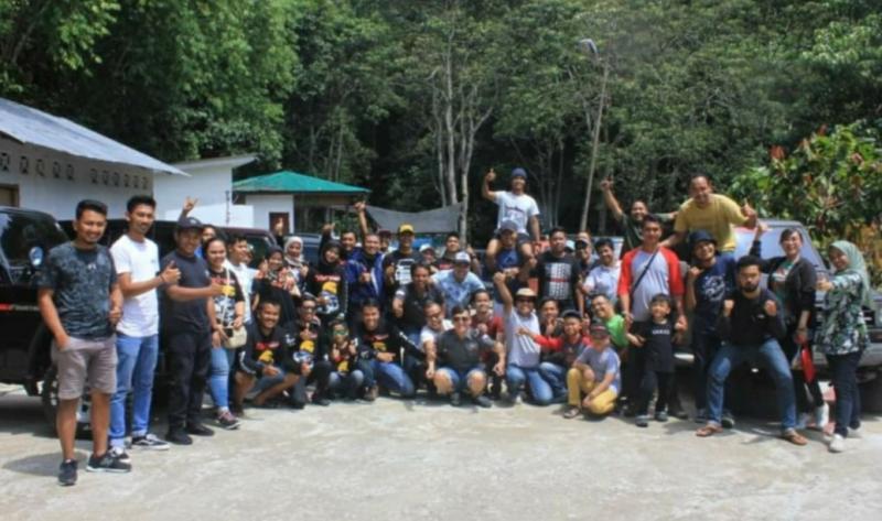 Konsep acara kembali ke alam bermanfaat untuk anggota dan keluarga. (foto : fachriadi)