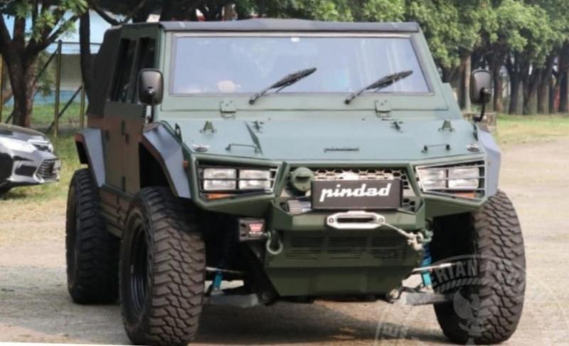 PT Pindad ajukan kerjasama dengan Toyota untuk membangun mobil rantis Maung versi komersial