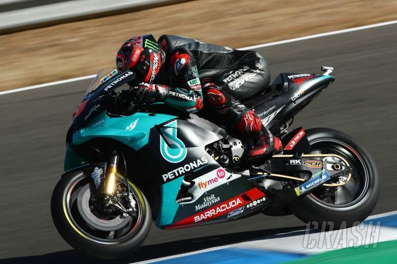 Fabio Quartararo gokil, borong P1 di 2 balapan MotoGP pertama musim 2020. (Foto: crash)