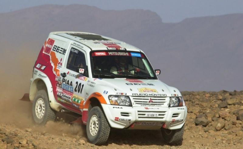 DNA Mitsubishi Pajero Sport dari Reli Paris - Dakar yang kini namanya Reli Dakar. (Foto : MMKSI)