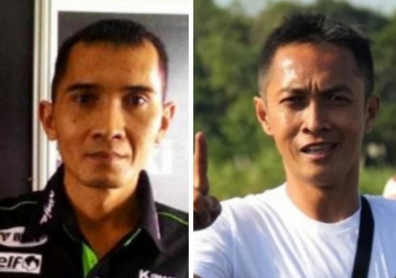 Tuner kawakan Ibnu Sambodo (kiri) dan pemilik tim balap motor Hokky Krisdianto. (foto : balapmotor, kolase)