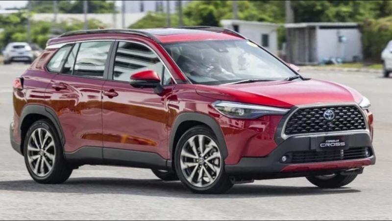 Ini wujud Toyota Corolla Cross yang akan diluncurkan di Indonesia
