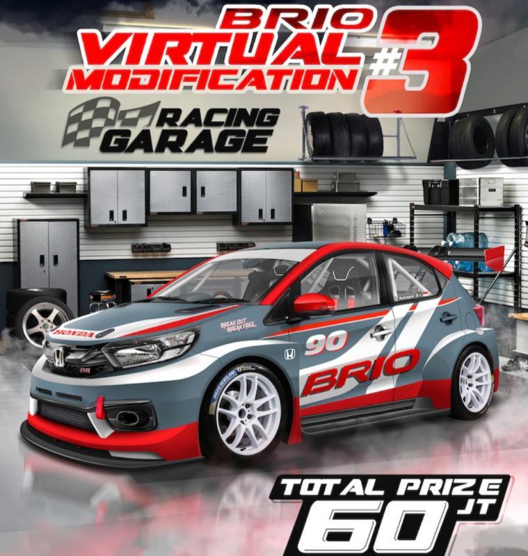 Brio Virtual Drift Challenge, bakal kejutan baru event dari PT Honda Prospect Motor berikutnya