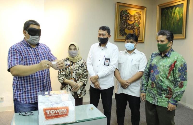 Pengundian door prize dilakukan pada Kamis hari ini di Jakarta, dimenangkan Agustina Wahyu Wulandari