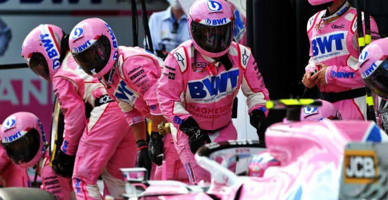 Tim Racing Point, terancam absen di GP Inggris akhir pekan ini. (Foto: gpblog)