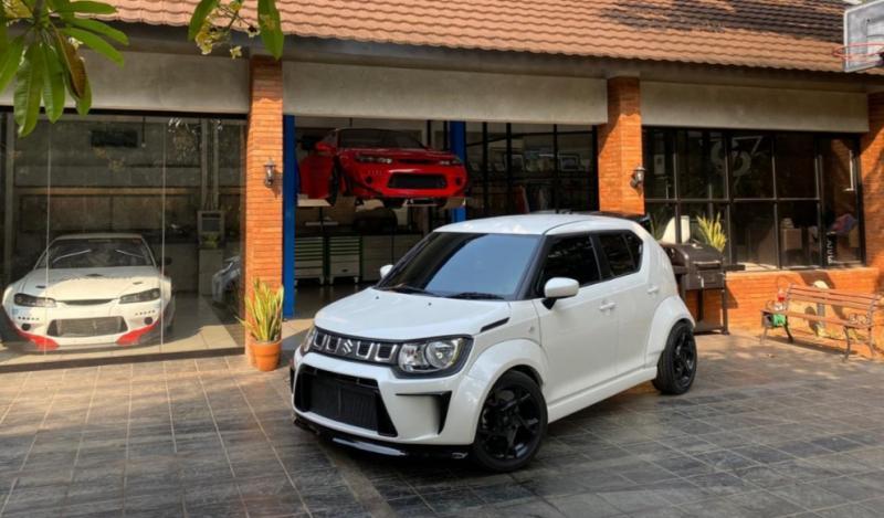 Suzuki Ignis time attack racikan Garasi Drift jadi supergiveaway Indonesia Modification Expo 2020