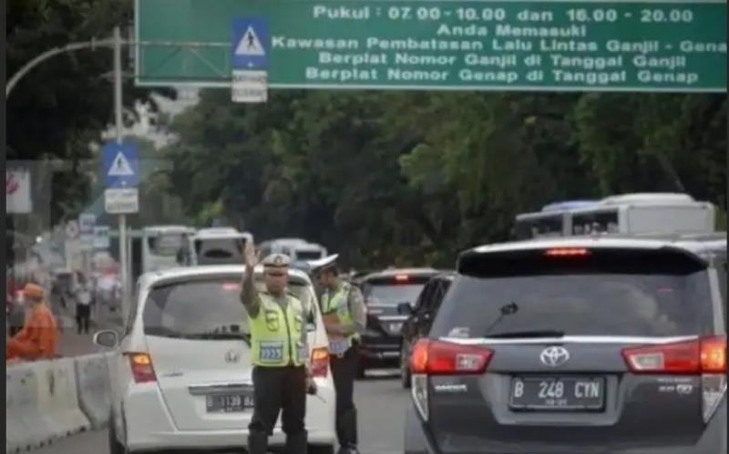 Ganjil Genap akan kembali diberlakukan di jalan protokol Jakarta pekan depan