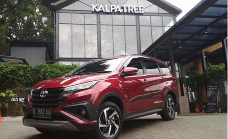 All New Toyota Rush mencetak 25 persen SPK dari seluruh model dalam Toyota Virtual Expo pekan lalu