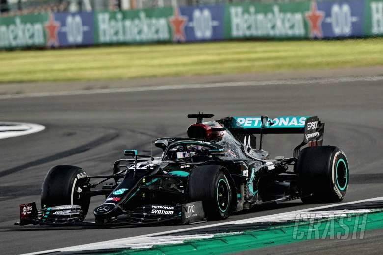 Lewis Hamilton (Inggris/Mercedes), kemenangan ketiga dalam 4 race 2020. (Foto: crash)