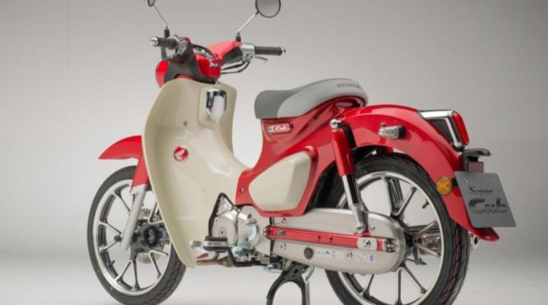 Motor bebek Honda Super Cub yang pertama diproduksi 1958 akan muncul kembali dalam versi motor listrik