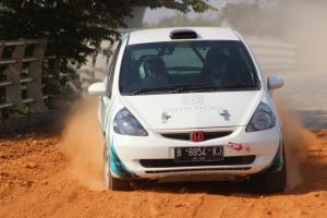 Sirkuit sprint rally Meikarta, Bekasi nyaris perfect, hanya perlu sedikit ditambah lebih panjang