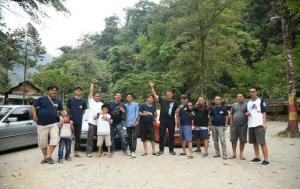 BMWCCI Padang Chapter saat touring ke Pariaman, Sumatera Barat