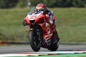 Francesco Bagnaia dari tim Pramac Ducati diprediksi bakal bersinar di ajang MotoGP