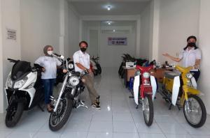 Main Dealer Sumatera Barat sudah siap melayani penjualan SYM & SM Sport. (foto : ende)