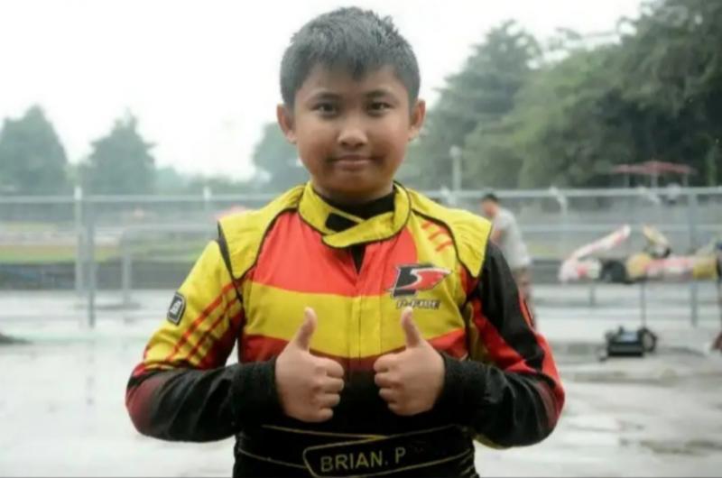 Brian alami progress menggembirakan setelah dilatih pembalap senior Haridarma Manoppo