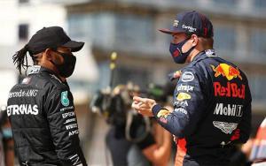 Lewis Hamilton (Mercedes) dan Max Verstappen (Red Bull), adakah kecurangan? (Foto: ist)