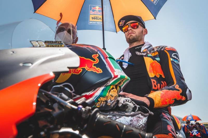 Brad Binder (Afsel/KTM), kado ulang tahun super istimewa. (Foto: motogp)